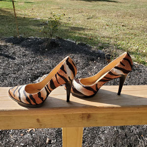 Nine West Animal Print High Heel Pumps